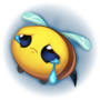 Bee Sad Emote