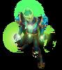 Brand Lichtbogen-Brand (Aquamarin) M