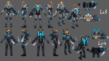Ezreal Update Pulsfeuer- Model 02