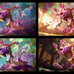 Surprise Party Fiddlesticks Update Splash Concept 1 (by Riot Contracted Artist <a href=
