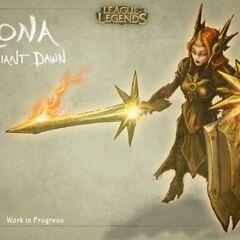 Leona Concept 1 (by Riot Artist <a href=