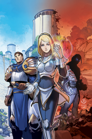 Lux Comic 1 Cover 2