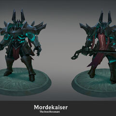 Mordekaiser Update Model 1 (by Riot Artist <a href=