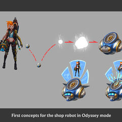 Odyssey Ora Bot Concept 1 (by Riot Artists <a rel=