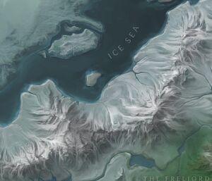 Ridgeback Mountains map
