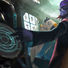 Professor Ryze Update Splash Concept 2 (by Riot Artist <a rel=