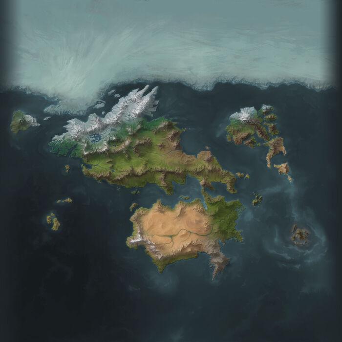 Карта Рунтерры