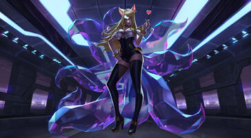 Ahri KDA- Splash Konzept 02