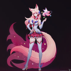 Star Guardian Ahri Concept 10 (by Riot Artist <a href=