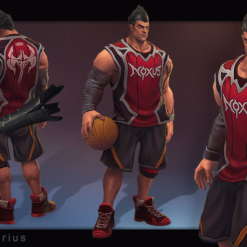 Dunkmaster Darius Model (by Riot Artist <a rel=