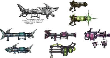Jinx Waffe Konzept 1