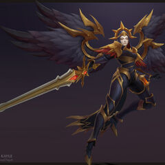 Iron Inquisitor Kayle Update Model 4 (by Riot Artist <a rel=