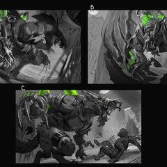 Feral Warwick Splash Update Concept  1 (by Riot Artist <a href=