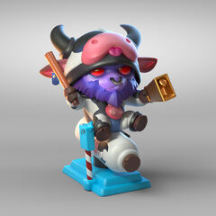 Moo Cow Alistar Statue Model 1 (by Riot Artists <a href=