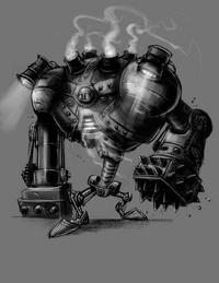 Blitzcrank Konzept Zeichnung 3