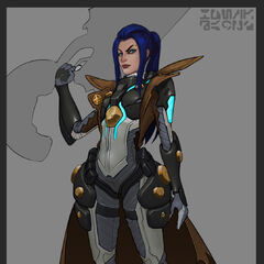 Pulsefire Caitlyn Concept 2 (by Riot Artist <a href=