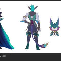 Star Guardian Rakan Concept 3 (by Riot Artist <a rel=