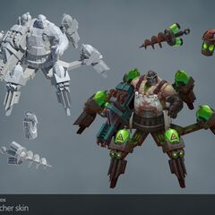Butcher Urgot Update Model (by Riot Artists <a href=