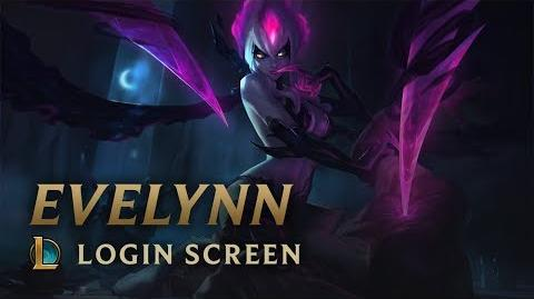 Evelynn, Agony's Embrace - Login Screen