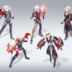 Battle Academia Ezreal Concept 2 (by Riot Artist <a href=