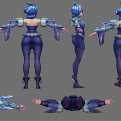 Frostblade Irelia Update Model 3 (by Riot Artist <a href=
