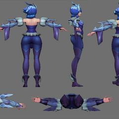 Frostblade Irelia Update Model 3 (by Riot Artist <a href=