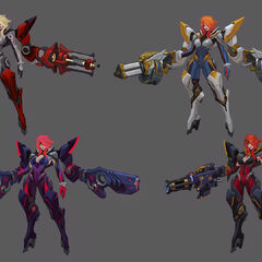 Gun Goddess Miss Fortune Concept 2 (by Riot Artist <a href=