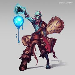Zombie Ryze Update Concept (by Riot Artist <a href=