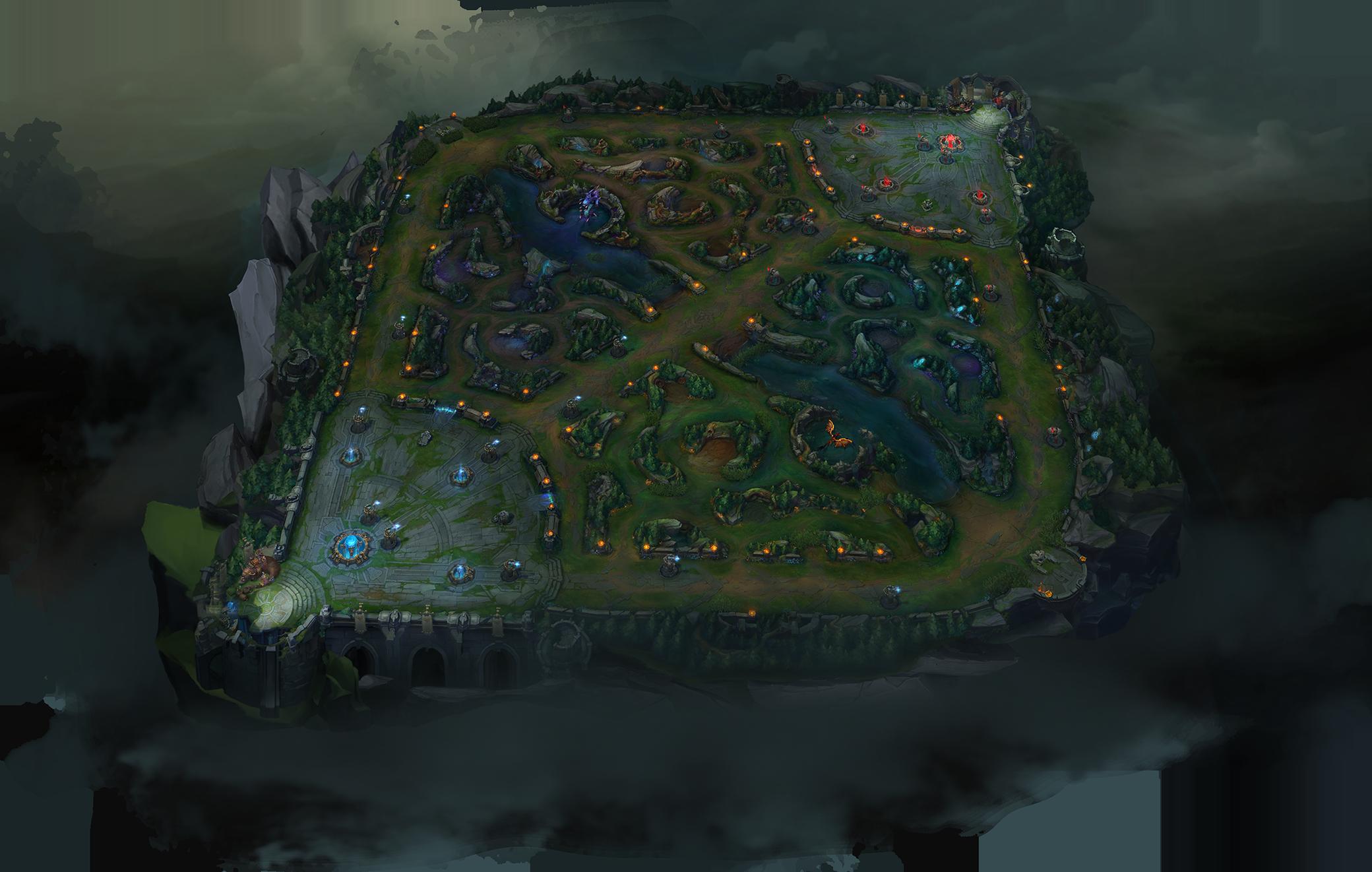 Map League Of Legends League Of Legends Wiki Fandom