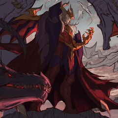 Dragon Master Swain Splash Concept 3 (by Riot Artist <a href=