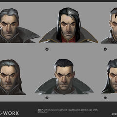 Swain Update Concept 3 (by Riot Artist <a href=