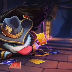 Twisted Fate Poro Promo