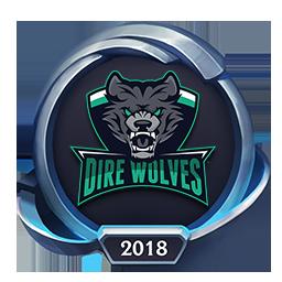 Worlds 2018 Dire Wolves Emote