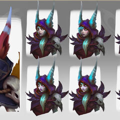 Xayah Concept 2 (by Riot Artist <a href=