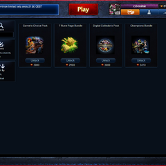 Riot Store Bundle page as of Sep. 25, 2011.