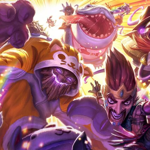 <small>Draven Draven, Meowkai, Urf Kench &amp; Definitely Not Vel'Koz</small>