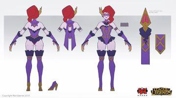 Evelynn Update Maskeraden- Konzept 01