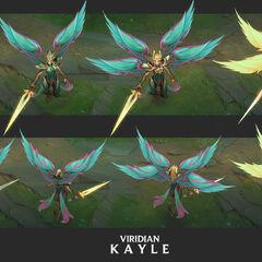 Viridian Kayle Update Concept 1 (by Riot Artist <a href=