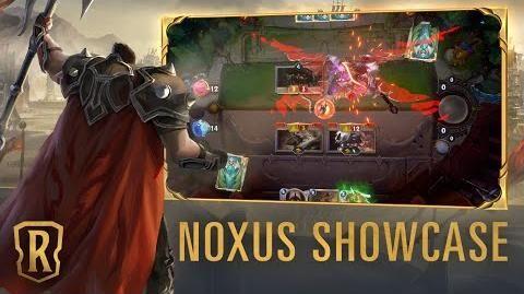 Noxus Region Showcase Gameplay - Legends of Runeterra