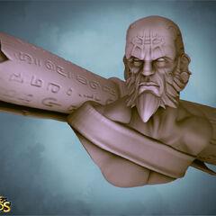 Ryze Statue Model 1 (by Riot Artist <a href=