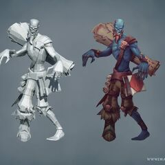 Zombie Ryze Update Model (by Riot Artists <a href=