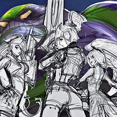 3 grafika konecepcyjna portretu Arcade