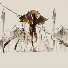 Azir Concept 5 (by Riot Artist <a href=