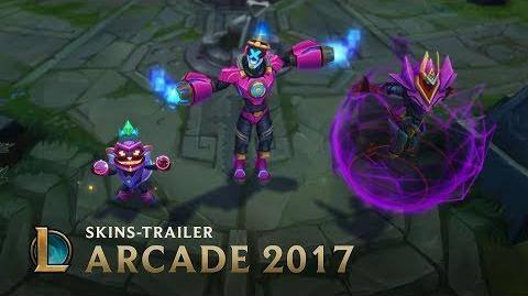 "Bösewichte rocken ""Arcade 2017""-Skins-Trailer – League of Legends"