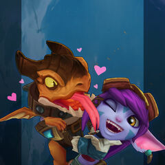 Dragon Trainer Tristana Model 2 (by Riot Artist <a href=