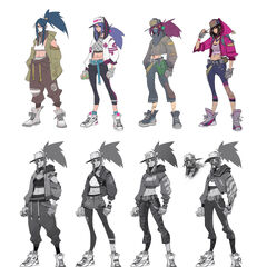 True Damage Akali Concept 1 (by Riot Artists <a rel=