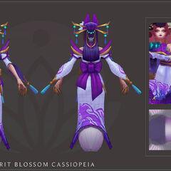 Spirit Blossom Cassiopeia Model 4 (by Riot Artist <a href=