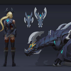 Championship Shyvana Concept 2 (by Riot Artist <a href=