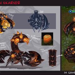Guardian of the Sands Skarner Concept (by Riot Artist <a href=