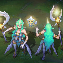 Star Guardian Soraka Concept 3 (by Riot Artist <a href=